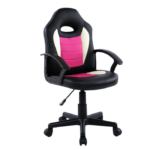 Scaun birou B11 roz alb pentru copii-Zendeco.ro