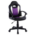 Scaun birou B11 violet negru pentru copii-Zendeco.ro