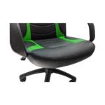 Scaun ergonomica Arka Chairs B15 negru verde,Zendeco.ro