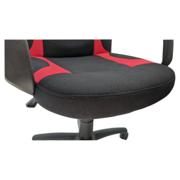 Scaun gaming Arka Chairs B15 Textil Negru rosu