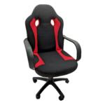 Scaun gaming Arka Chairs B15 textil negru rosu, Zendeco.ro
