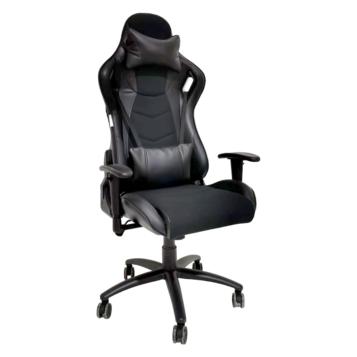 Scaun Gaming Arka B147 Pro, all black hibrid anti transpiratie pentru profesionisti