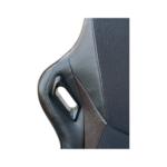 Scaun gaming Arka Chairs B147 negru maro Hibrid anti transpiratie-Zendeco.ro 2