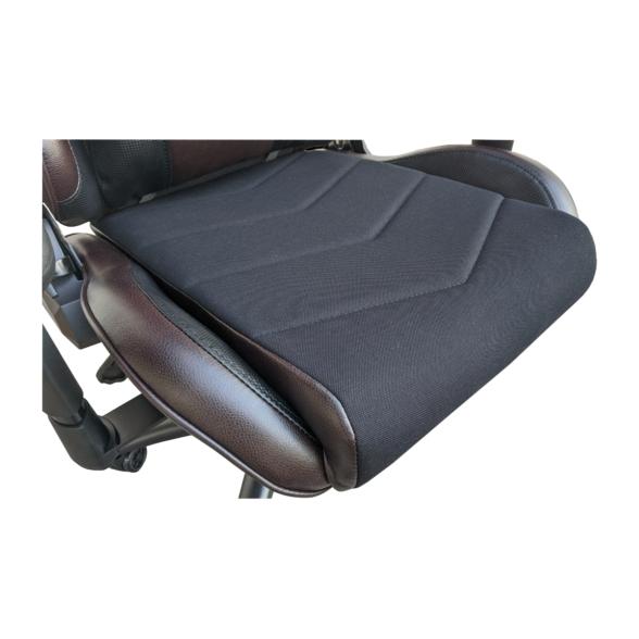 Scaun gaming Arka Chairs B147 negru maro Hibrid anti transpiratie-Zendeco.ro 3