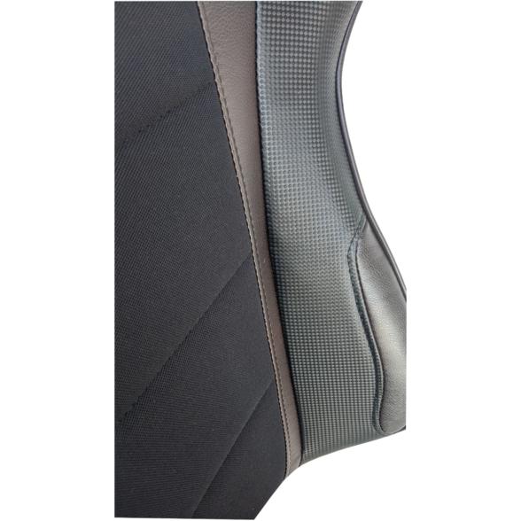 Scaun gaming Arka Chairs B147 negru maro Hibrid anti transpiratie-Zendeco.ro 4