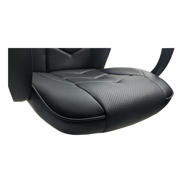 Zendeco.ro-Scaun gaming Arka B19 black, piele perforata anti transpiratie
