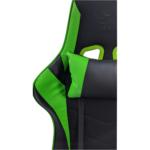 Zendeco.ro-Scaun gaming B54 black green textil,Zendeco.ro
