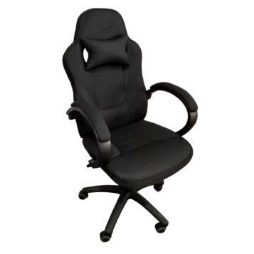 Scaun gaming Arka Chairs B99P negru textil anti transpiratie