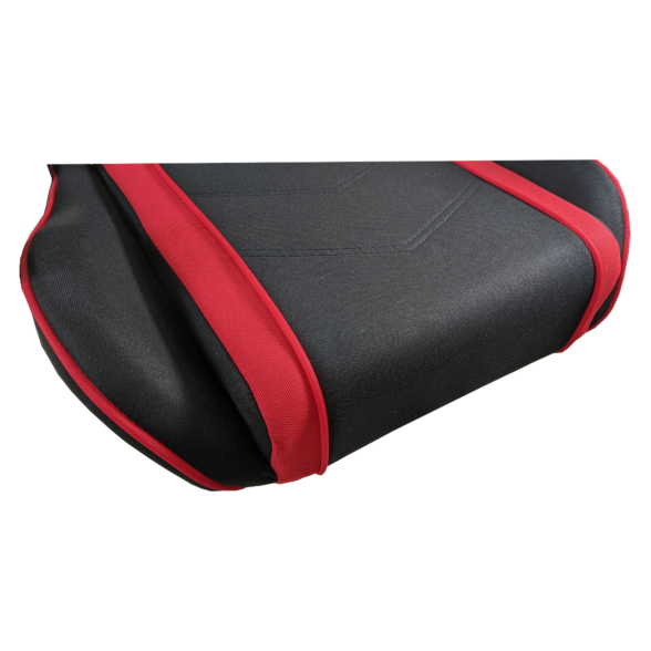 Scaun gaming Arka Chairs B64 red2 textil cu boxe incorporate, Zendeco.ro