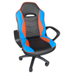 Scaun de gaming Arka Chairs B14 black blue orange