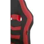 Scaun gaming Arka Chairs B16 rosu, material textil anti transpiratie Spatar-Zendeco.ro