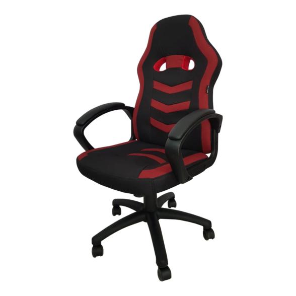 Scaun gaming Arka Chairs B16 rosu, material textil anti transpiratie-Zendeco.ro