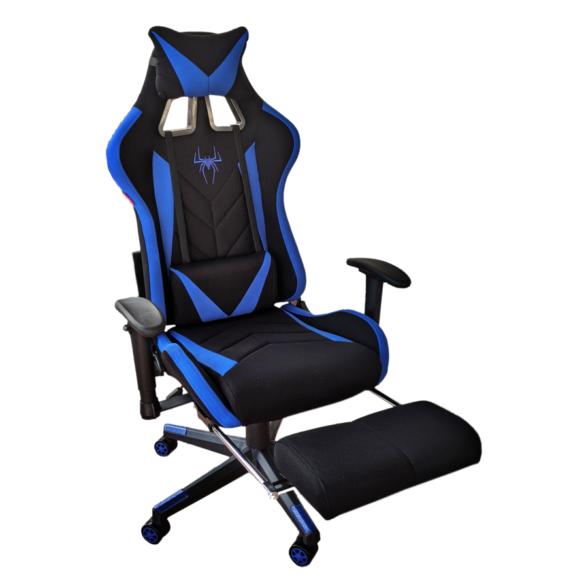Scaun gaming Arka Chaira B207 blue textil,Zendeco.ro
