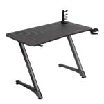 Birou gaming Arka Evolution Z10, Profesional black red, suprafata black carbon 110 x 60cm, Mouse Pad