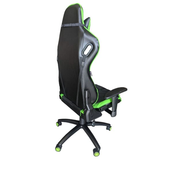 Scaun Gaming Arka Chairs B147 Hercules, Carbon black green, Promotii-scaune.ro