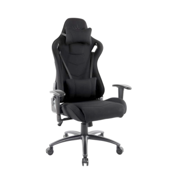 Scaun gaming Arka Chairs B147 black textil anti transpiratie-zendeco.ro