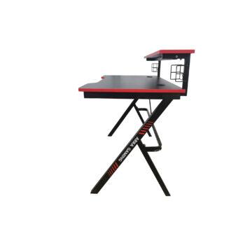 Birou Arka Gaming Z5, suprafata negru rosu /carbon 120*60cm, structura otel 1.5mm