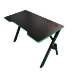 Birou gaming Arka Evolution Z4, Profesional, suprafata negru/verde carbon 120*60cm