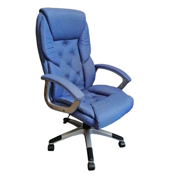 Scaun comodo B26 blue textil